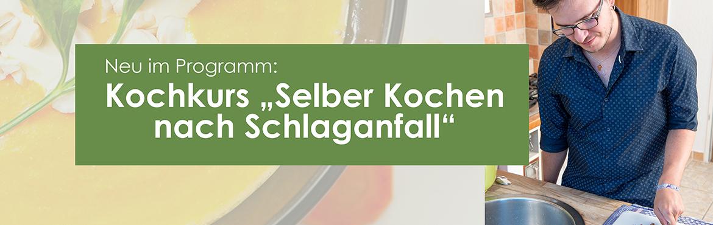 Kochen Schlaganfall genuss Einhänderkochbuch Nick Martina Tschirner Kochkurs Kochclub