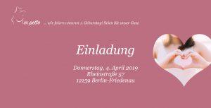 Brustprothetik, Brustprothetik Berlin, in petto, Boutique, Geburtstag, Eröffnung